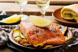 comment cuisiner du saumon surgelé recette papillote de saumon aux poireaux