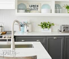 kitchen cabinets blog why two toned kitchen cabinets rock a pop of pretty blog
