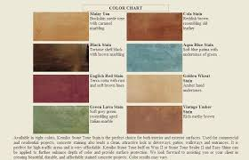 brick stain home depot kemiko acid stain color chart paint