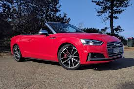 convertible audi red audi s5 cabriolet 2018 review weekend test carsguide