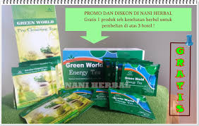 pemesanan produk green world