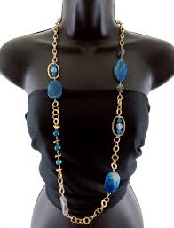 blue fashion necklace images Wholesale jewelry accessories wholesale high end necklaces jpg