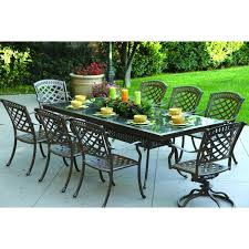 8 Piece Patio Dining Set - darlee sedona 9 piece cast aluminum patio dining set with