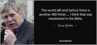 Lenny Dykstra I Think I - quotes by lenny dykstra a z quotes
