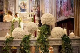 matrimonio fiori allestimento chiesa di la magia dei fiori foto