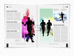 sport brochure layout royalty free cliparts vectors and stock