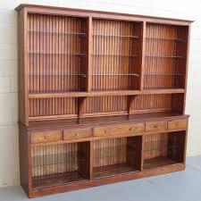 Display Cabinet Vintage American Antique Cabinet Antique Back Bar Antique Furniture