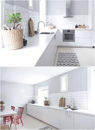 cuisine carrelage metro design interieur relooking cuisine bois credence carrelage metro
