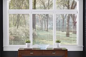 Cheap 2 Inch Faux Wood Blinds Custom Wood Blinds Window Treatments Lafayette Interior Fashions