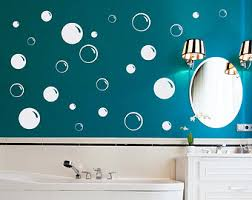 bubble wall decals etsy