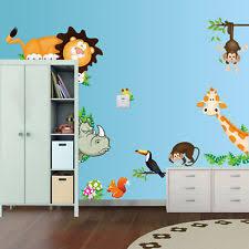 kinderzimmer wandbilder kinderzimmer wandtattoos wandbilder mit tier thema fürs