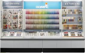 olympic paints and stains unveils new in store and ppg paints