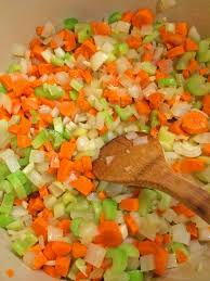 mirepoix cuisine curried lentils with chicken kevin is cooking