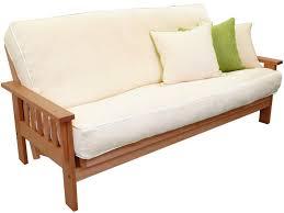 chemical free futon frames solid cherry futon the futon shop