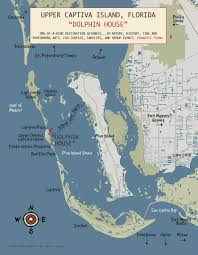 Sanibel Island Map Dolphin House At Safety Harbor Private Realms