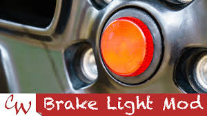 jeep jk 3rd brake light brake light mod on a jeep wrangler youtube