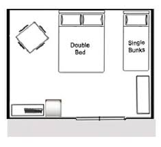 cabin layout 4 berth std cabin layout belt road seaside holiday park