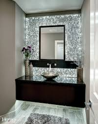 the centerpiece of this spectacular powder bath is the l e d