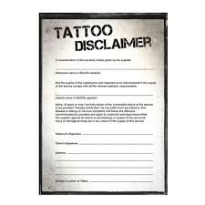 disclaimer pads 100 sheets tattoo aftercare tattoo piercing