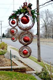 large outdoor decorations large outdoor ornaments large