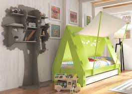 children cabin bed with unique tent shaped design home