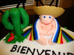 mexican baby shower mexican baby shower cake cakecentral