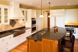 kitchens with 2 islands wood prestige square door satin white kitchen with 2 islands