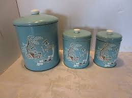 Retro Canisters Kitchen Vintage Kitchen Canisters Zeppy Io