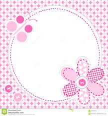baby girl cards baby girl greeting card stock vector image 54234813