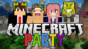 minecraft party minecraft party time with friends mini