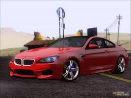 modified bmw m6 2013 bmw m6 for gta san andreas