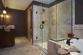 beautiful modern bathroom decorating ideas with shower design