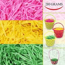 easter grass in bulk 280g 10 oz tricolors easter grass bulk pink