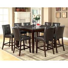 dining room set for 4 orient express furniture stone wash square dining set with bench