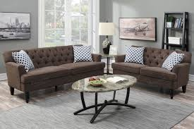 2 pcs sofa set sofa loveseat bobkona furniture showroom