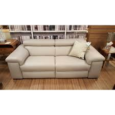 Large Leather Sofa Natuzzi Editions B817 Large Leather Sofa The Place For Homes