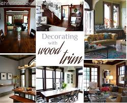 decorating with wood trim dark wood trim dark wood and dark