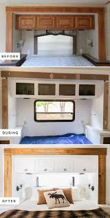 Caravan Kitchen Cabinets Best 25 Camper Renovation Ideas On Pinterest Camper Camper