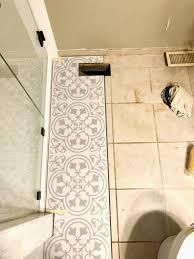 is vinyl flooring for a bathroom lvt flooring existing tile the easy way vinyl floor