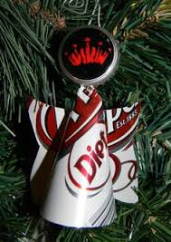 dr pepper vw recycled soda can ornament magnet