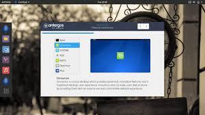 environnement bureau linux antergos 17 10 de l installation à l utilisation