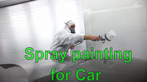 how to spray paint a car at home spray painting car tutorial