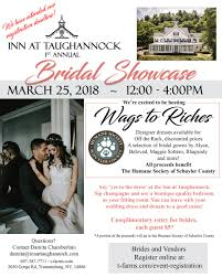 bridal registration bridal showcase registration inn at taughannock