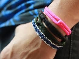 bracelet cord images How to make a cobra stitch cord bracelet snapguide jpg
