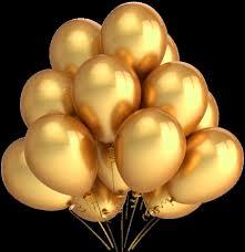 metallic balloons gold 24 pcs 12 metallic birthday wedding party decor