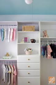 Home Depot Shelves by Decorating Wooden Home Depot Closet Organizer With Shelves And