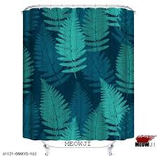 Botanical Shower Curtains Botanical Garden Green Custom Shower Curtain Bathroom Decor
