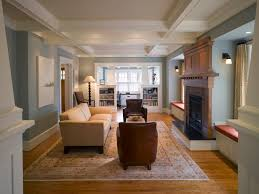 Craftsman Style Home Interiors Craftsman Style Living Rooms Home Planning Ideas 2017