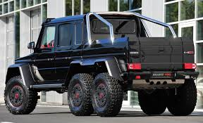 mercedes jeep 6 wheels brabus b63s 700 6x6 the six wheeled black beast