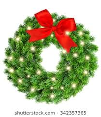 christmas tree with white lights and red bows christmas wreath with red bow images stock photos vectors